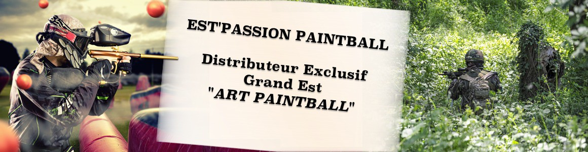 Distributeur exclusif Grand Est ART PAINTBALL