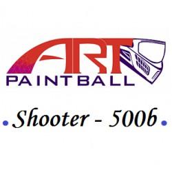 Art Paintball Shooter * 500 billes