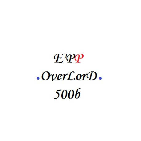E'PP OverLorD * 500 billes