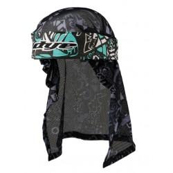 Headwrap Eskimo Teal-Gry-Blk