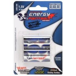 Energy Paintball - 4 piles LR03 (AAA)