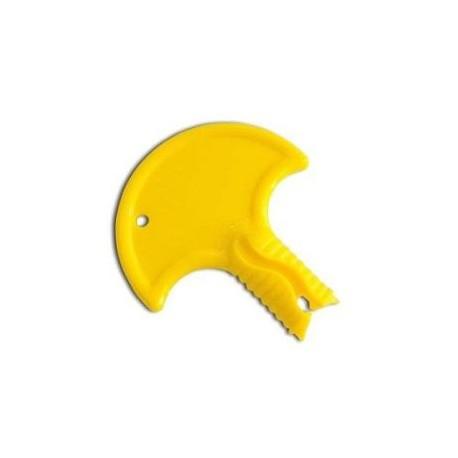 Bouchon de canon jaune