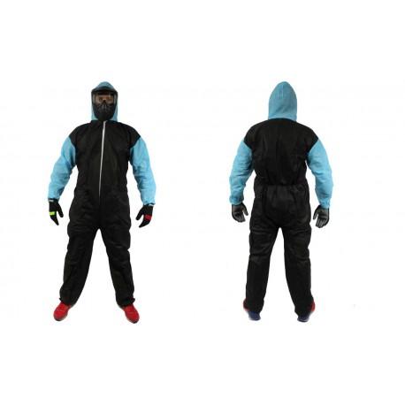 Combinaison Jetable Adulte - 34gr - Taille XXL - Black&Blue